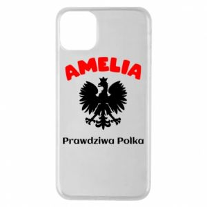 Phone case for iPhone 11 Pro Max Amelia is a real Pole