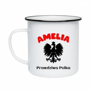Kubek emaliowane Amelia jest prawdziwą Polką
