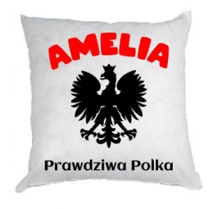 Pillow Amelia is a real Pole