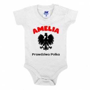 Baby bodysuit Amelia is a real Pole