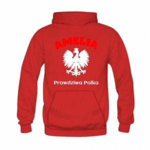 Bluza z kapturem dziecięca Amelia jest prawdziwą Polką