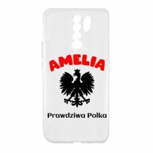 Phone case for Samsung J5 2017 Amelia is a real Pole - PrintSalon