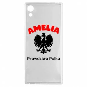 Phone case for Samsung A20 Amelia is a real Pole - PrintSalon