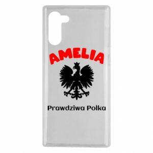 Phone case for Samsung A70 Amelia is a real Pole - PrintSalon