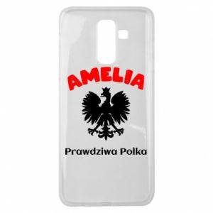 Phone case for Samsung S7 Amelia is a real Pole - PrintSalon