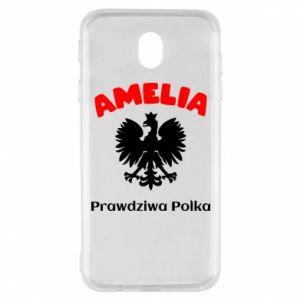 Phone case for Samsung S8 Amelia is a real Pole - PrintSalon