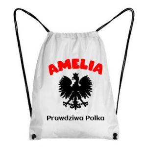 Plecak-worek Amelia jest prawdziwą Polką
