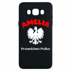 Phone case for Samsung S9 Amelia is a real Pole - PrintSalon