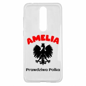 Phone case for Huawei Y5 2018 Amelia is a real Pole - PrintSalon