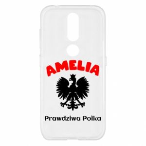 Phone case for Huawei Y6 2018 Amelia is a real Pole - PrintSalon