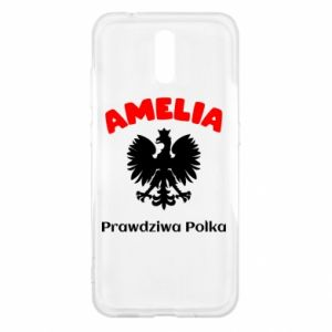 Phone case for Huawei Y7 Prime 2018 Amelia is a real Pole - PrintSalon