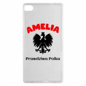 Phone case for Huawei P Smart Amelia is a real Pole - PrintSalon