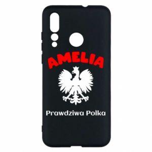 Phone case for Huawei P10 Lite Amelia is a real Pole - PrintSalon