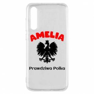Phone case for Huawei P20 Amelia is a real Pole - PrintSalon