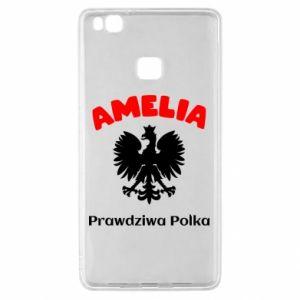 Phone case for Huawei P20 Lite Amelia is a real Pole - PrintSalon