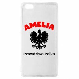 Phone case for Xiaomi Redmi 7 Amelia is a real Pole - PrintSalon