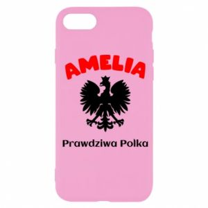 Phone case for Samsung A6 2018 Amelia is a real Pole - PrintSalon