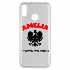 Phone case for Samsung A7 2018 Amelia is a real Pole - PrintSalon