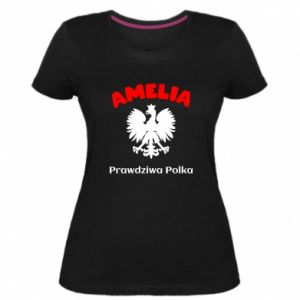 Damska premium koszulka Amelia jest prawdziwą Polką