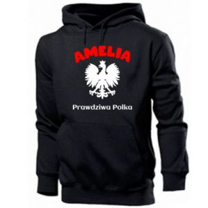 Men's hoodie Amelia is a real Pole