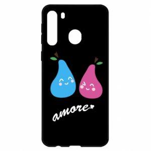 Etui na Samsung A21 Amore