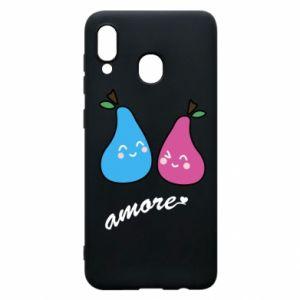 Etui na Samsung A20 Amore