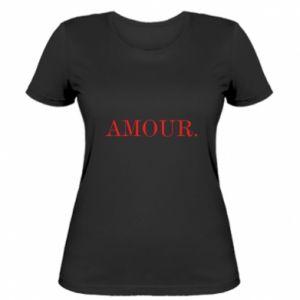 Damska koszulka Amour.