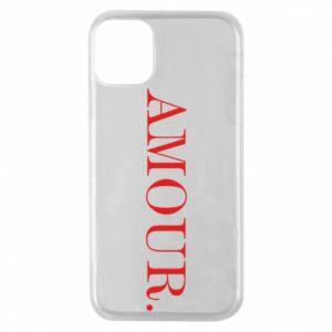 Etui na iPhone 11 Pro Amour.