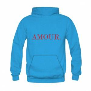 Bluza z kapturem dziecięca Amour.