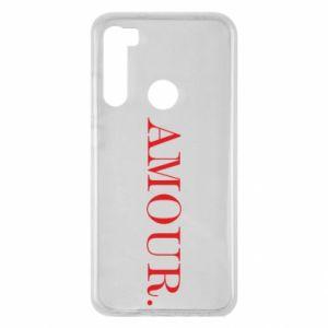 Xiaomi Redmi Note 8 Case Amour.