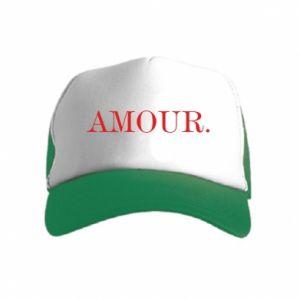 Czapka trucker dziecięca Amour.