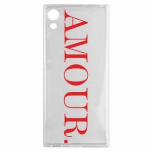 Etui na Sony Xperia XA1 Amour.