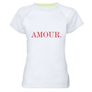 Koszulka sportowa damska Amour.