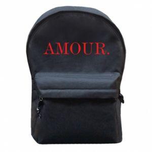 Plecak z przednią kieszenią Amour.