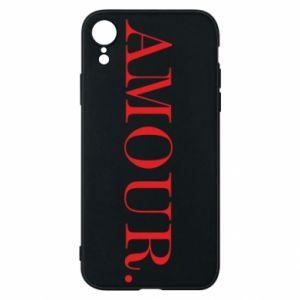 Etui na iPhone XR Amour.