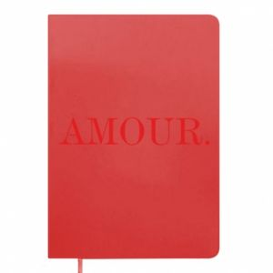 Notepad Amour.