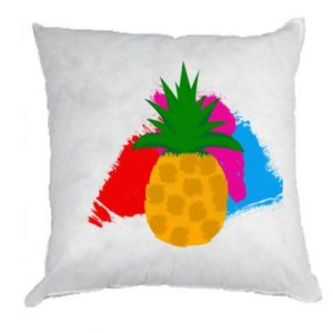 Pillow Pineapple on a bright background