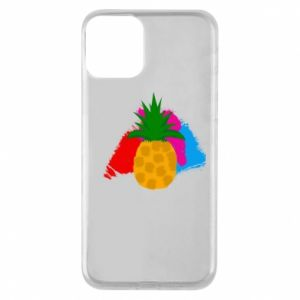 Phone case for iPhone 11 Pineapple on a bright background