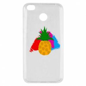 Xiaomi Redmi 4X Case Pineapple on a bright background