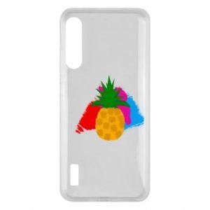Xiaomi Mi A3 Case Pineapple on a bright background