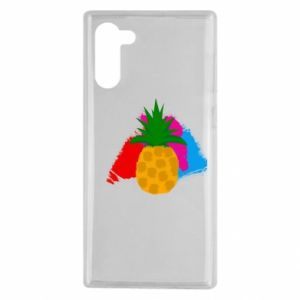Samsung Note 10 Case Pineapple on a bright background