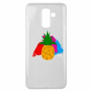Samsung J8 2018 Case Pineapple on a bright background