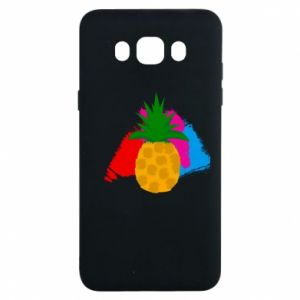 Samsung J7 2016 Case Pineapple on a bright background