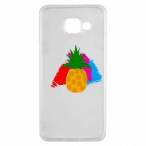 Samsung A3 2016 Case Pineapple on a bright background