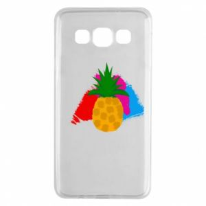 Samsung A3 2015 Case Pineapple on a bright background