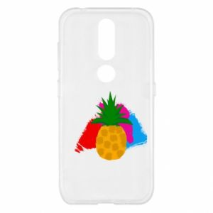 Nokia 4.2 Case Pineapple on a bright background
