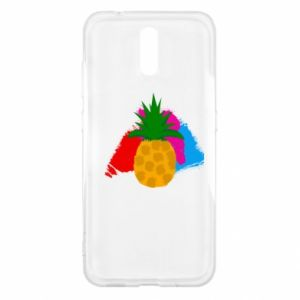Nokia 2.3 Case Pineapple on a bright background
