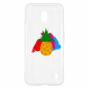Nokia 2.2 Case Pineapple on a bright background