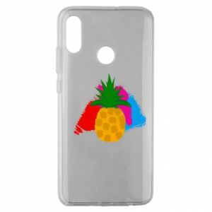 Huawei Honor 10 Lite Case Pineapple on a bright background