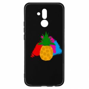 Huawei Mate 20Lite Case Pineapple on a bright background